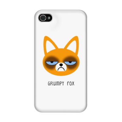 Чехол для iPhone 4/4s Grumpy Animals
