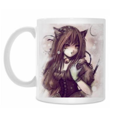 Кружка Gothiq Cat