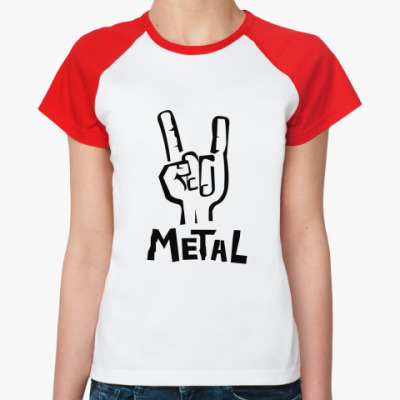 Женская футболка реглан  Koza
