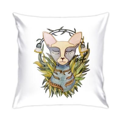 Подушка Кошка Афина