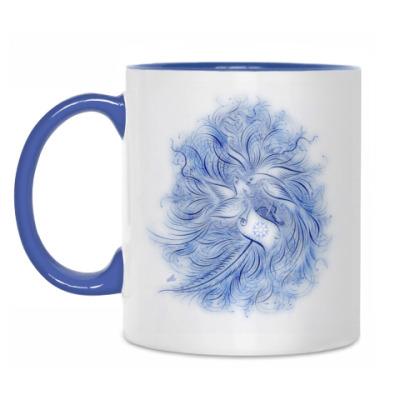 Кружка Синяя Птица