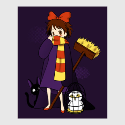 Постер Ведьмина служба доставки