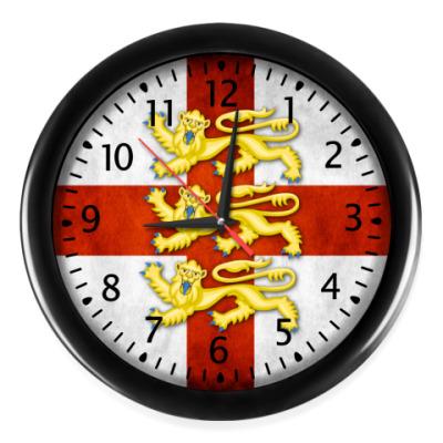 Настенные часы Английский Флаг