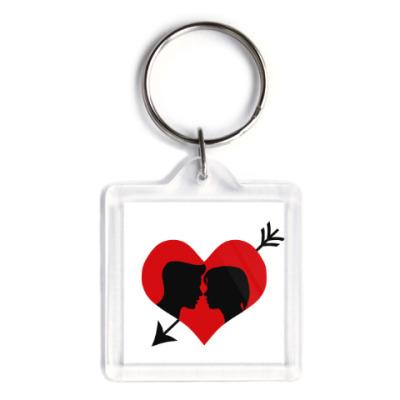 Брелок Сердце хочет любви