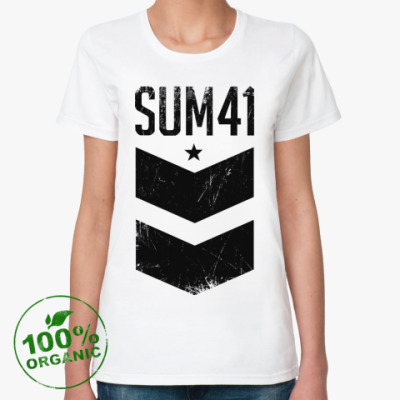 Женская футболка из органик-хлопка Sum 41