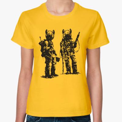 Женская футболка War Pigs