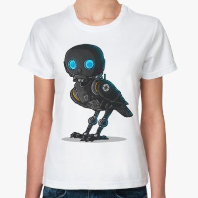 Классическая футболка Сова (Звездные Войны)