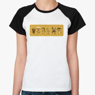 Женская футболка реглан  ИЗВРАЩЕНЦЫ