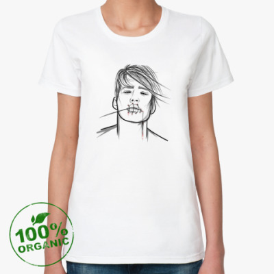 Женская футболка из органик-хлопка ZaShit'