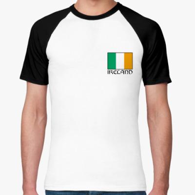 Футболка реглан   Ireland