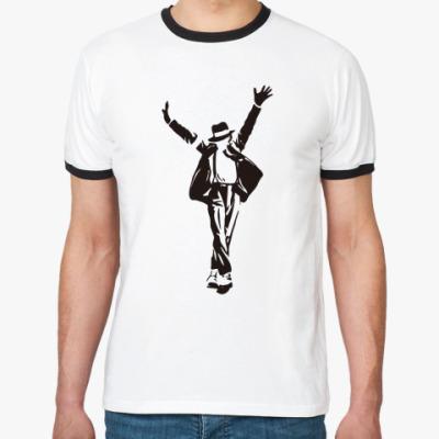 Футболка Ringer-T  MJ