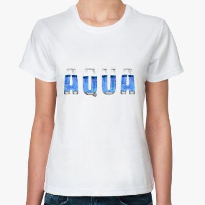 Классическая футболка Aqua