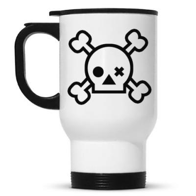 Кружка-термос Skull