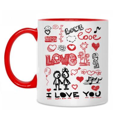 Кружка Love mix