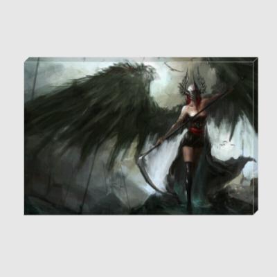 Холст ангел смерти
