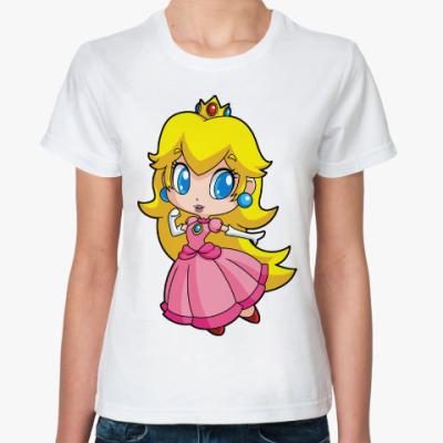 Классическая футболка Super Mario Princess