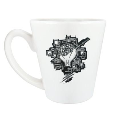 Чашка Латте Свет Ильича