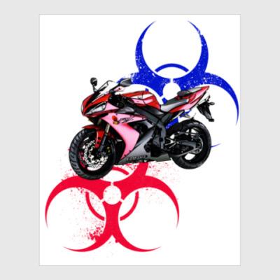 Постер Yamaha R1