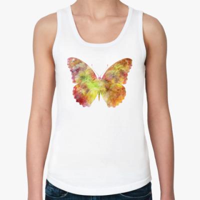 Женская майка  Бабочка (Butterfly)