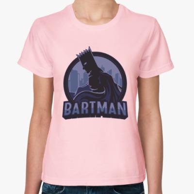 Женская футболка Bartman