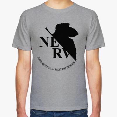 Футболка Neon Genesis Evangelion NERV