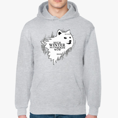 Толстовка худи Doge Stark Игра престолов