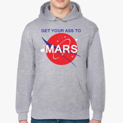 Толстовка худи Get your ass to Mars