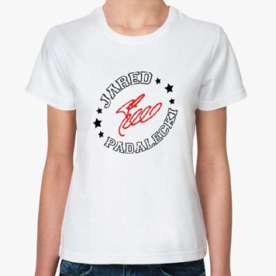 Классическая футболка Джаред Падалеки - Supernatural