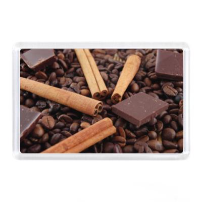 Магнит Шоколад ваниль кофе