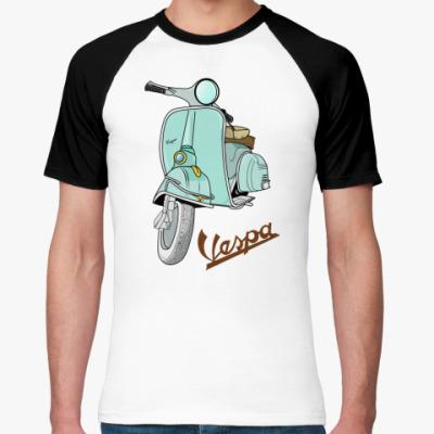 Футболка реглан   Vespa