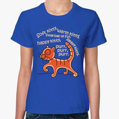 Женская футболка Песня Шелдона и Пенни