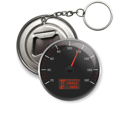 Брелок-открывашка KIA speedometer