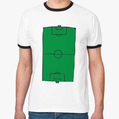 Футболка Ringer-T  Футбольное поле