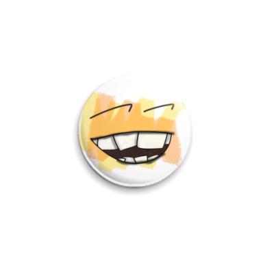 Значок 25мм UWrong Smile