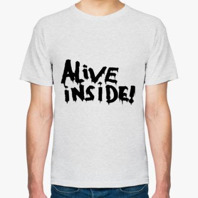 Футболка Alive inside