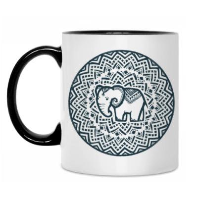 Кружка Этно-слоник