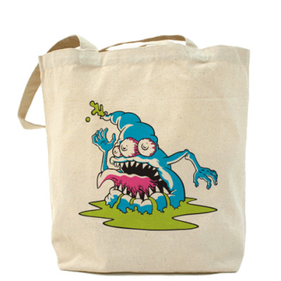 Сумка Холщовая сумка Monster