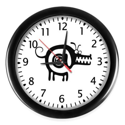 Настенные часы Собакасобака