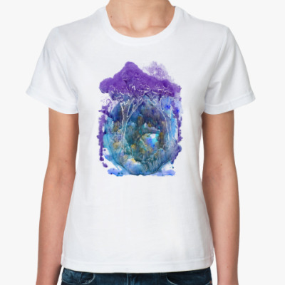 Классическая футболка Волшебный лес