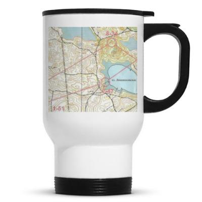Кружка-термос Карта всегда с вами!