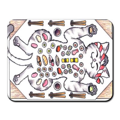 Коврик для мыши Sushi & Cat