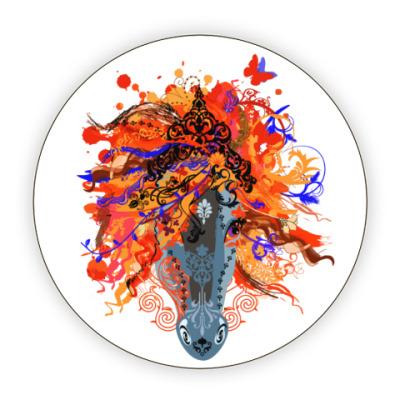 Костер (подставка под кружку) Freestyle Horse