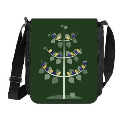Сумка на плечо (мини-планшет) Дерево жизни