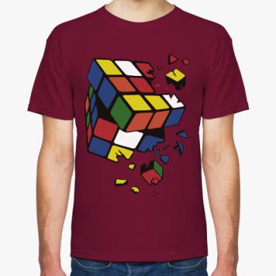 Футболка Сломанный кубик Рубика