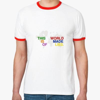 Футболка Ringer-T This world
