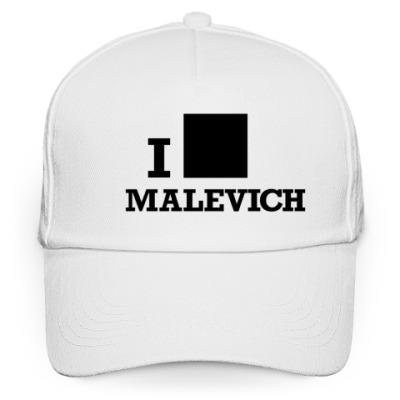 Кепка бейсболка Бейсболка Malevich белая