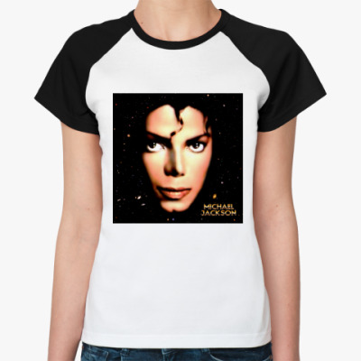 Женская футболка реглан Moonwalker
