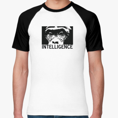 Футболка реглан  Intelligence
