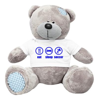 Плюшевый мишка Тедди Soccer