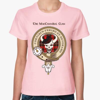 Женская футболка Женская футболка Fruit of the Loom (розовая)